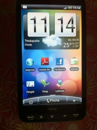 HTC HD2 with Android