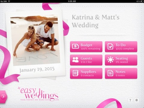 Easy Weddings Planner