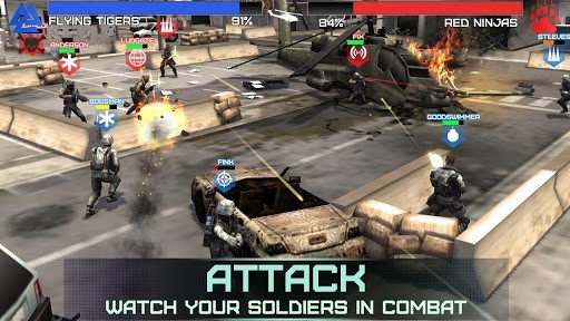 rivals at war best android app