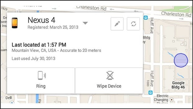 android device manager live