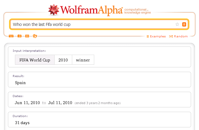 WolframAlpha answers your questions