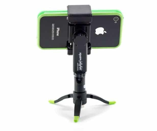 square jellyfish smartphone mount