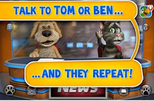 talking tom and ben