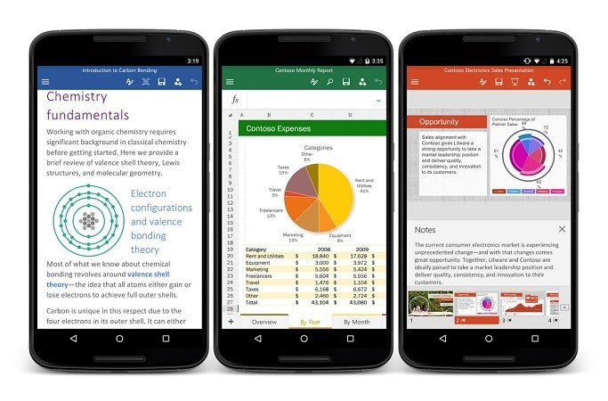 office android apps official launch
