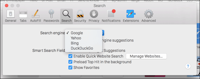 Safari DuckDuckGo