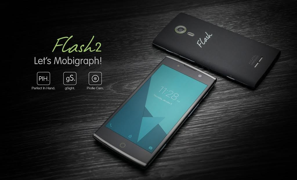 alcatel one touch flash 2 new