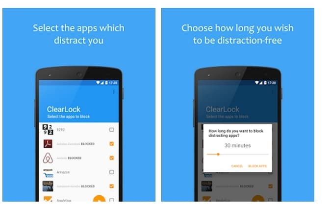 clear lock android