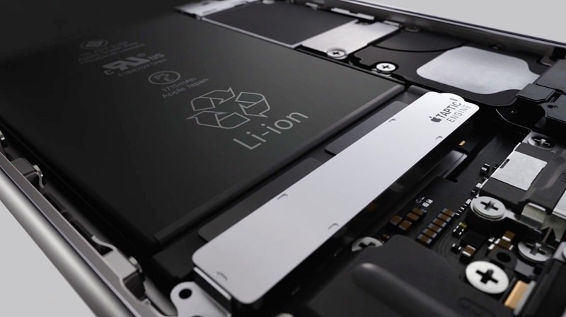 iphone 6s smaller battery