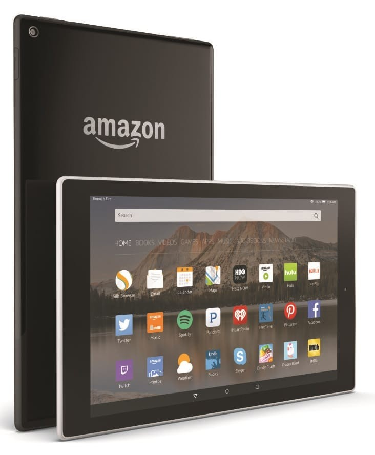 new amazon fire tablets