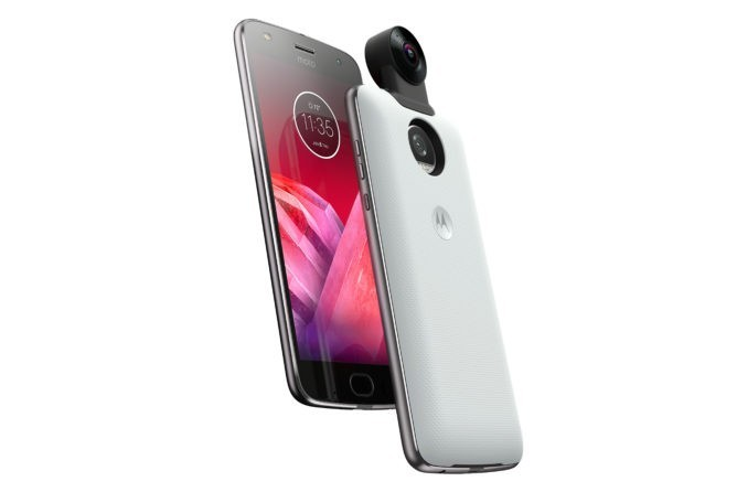 360 degree camera Moto Mod