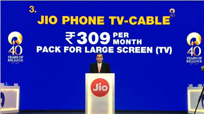 jiophone tv cable