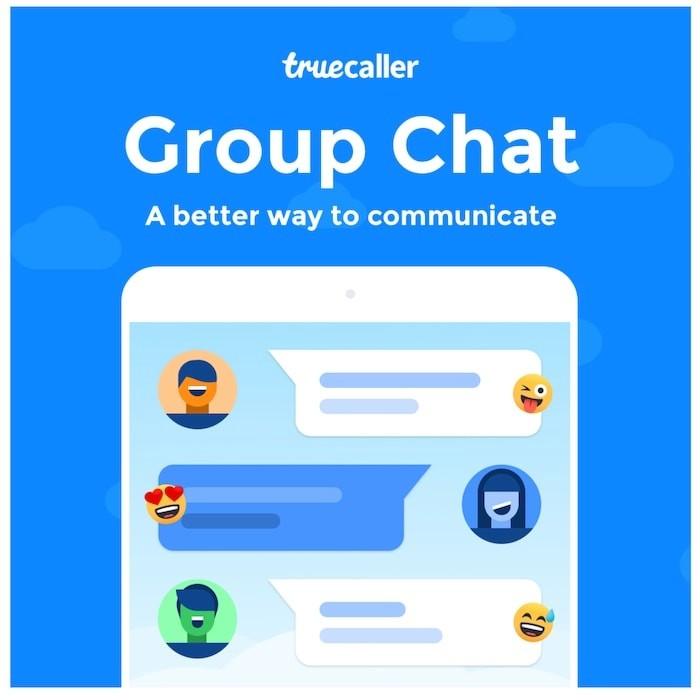 Truecaller Group Chat