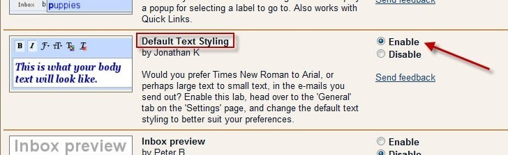 default-text-styling