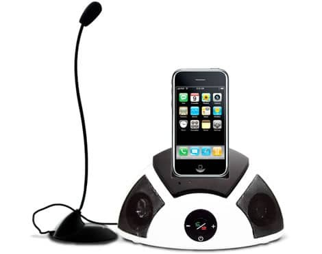 iPhone-Dock-with-speakers-hands-free