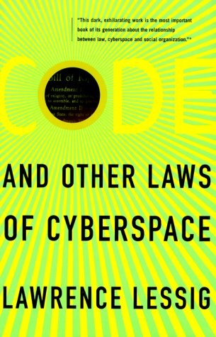 code and laws of cyber space