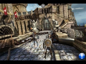 Infinity Blade face enemy