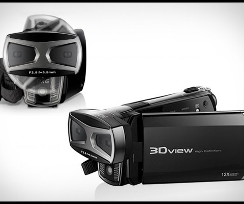 DXG 5F9V 1080p 3D and 2D HD Camcorder