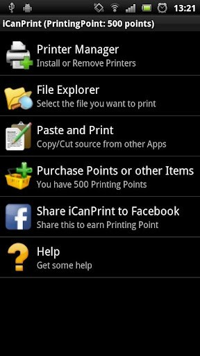 iCan Print WiFi - Android Printing App