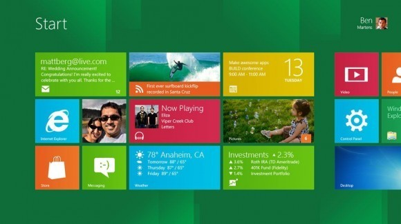 Windows 8 - Metro UI