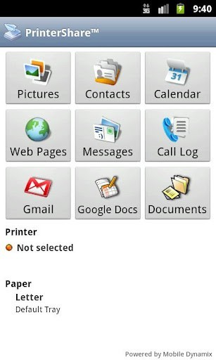 PrinterShare Mobile Printer Android Printing app