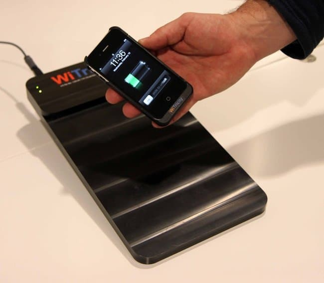 witricity smartphone wireless charging