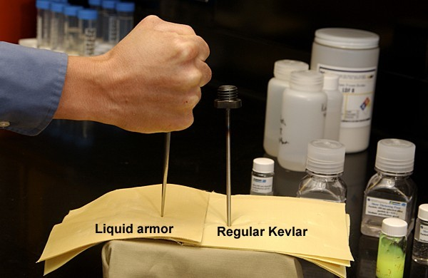 Kevlar and Liquid Armour