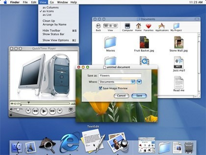 Mac OS X 10 Cheetah