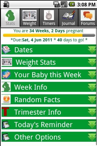 Happy Pregnancy Ticker