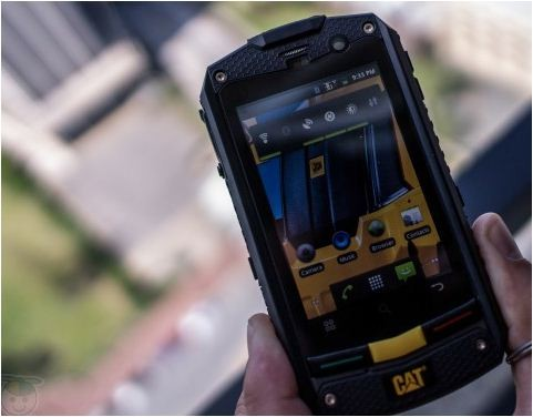 caterpillar tough smartphone