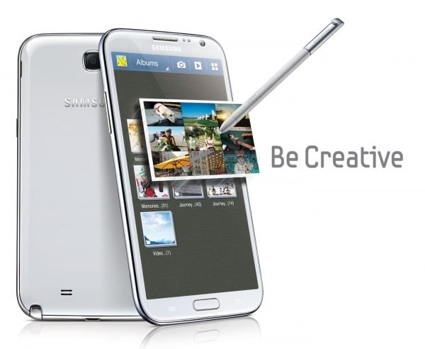 Galaxy Note 2 - be creative
