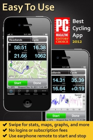Biking Apps for Android and iOS