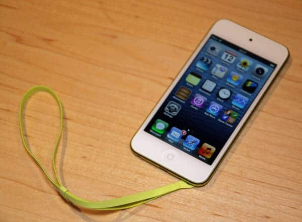 5th ipod touch 2012