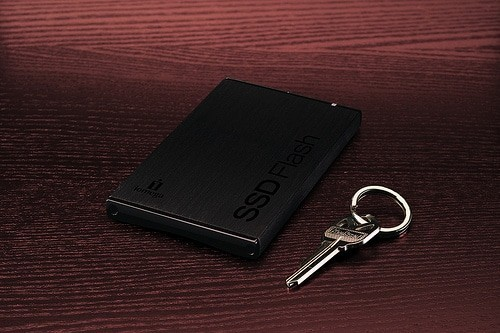 Solid State drive and a key