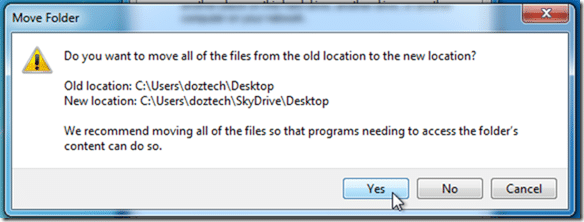 Automatically-Backup-Desktop-Folder-to-SkyDrive