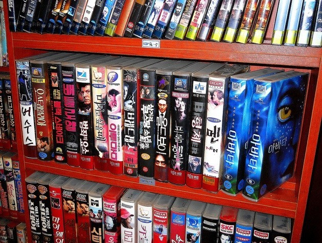 where to store movies