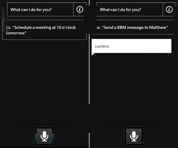 BlackBerry 10 Siri-Clone