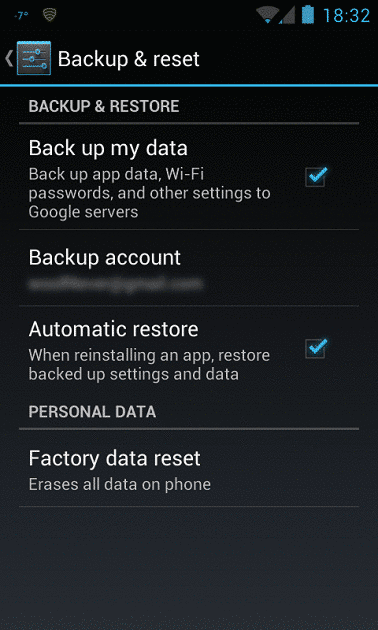 google-backup-restore-data-information