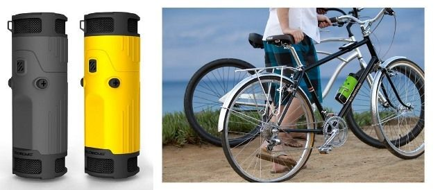 boomBOTTLE bike speaker