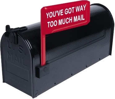 Clean up mail