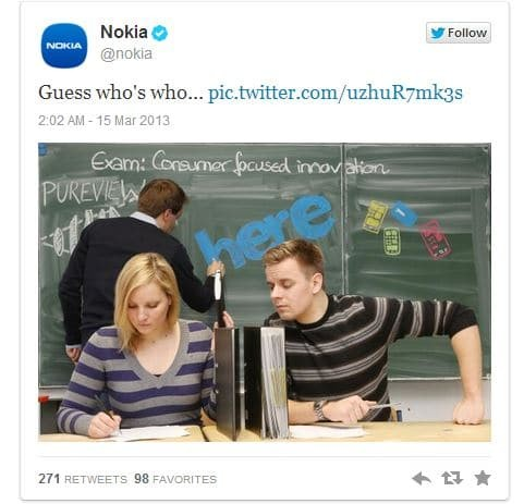 samsung cheating nokia