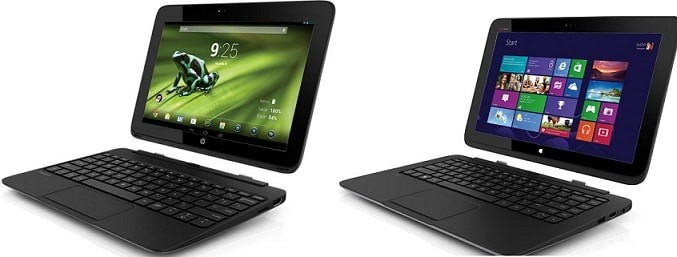 hp slatebook android x2