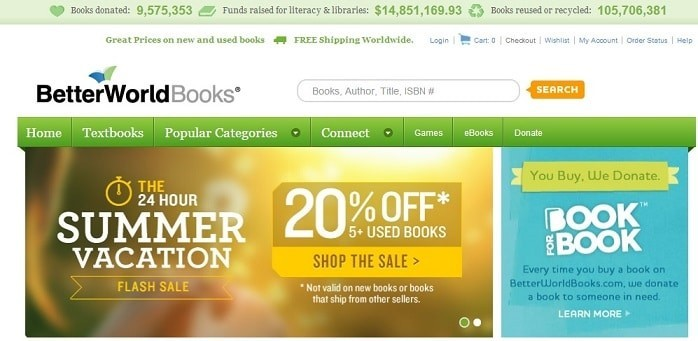 better world books buy books online