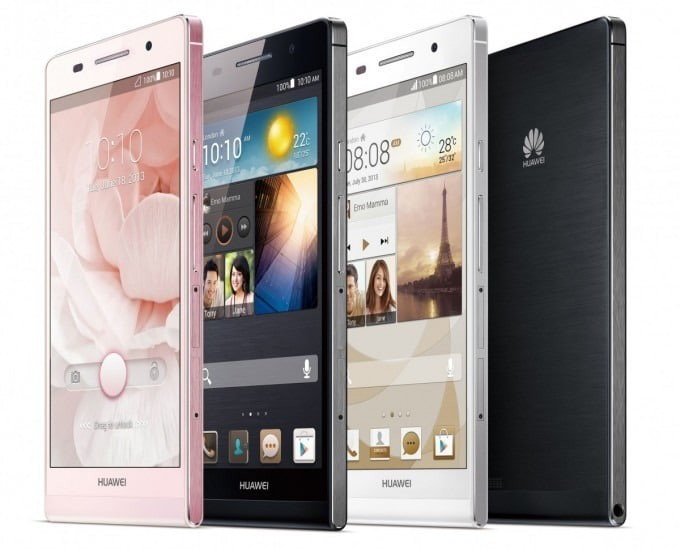 huawei ascend p6 unveiled