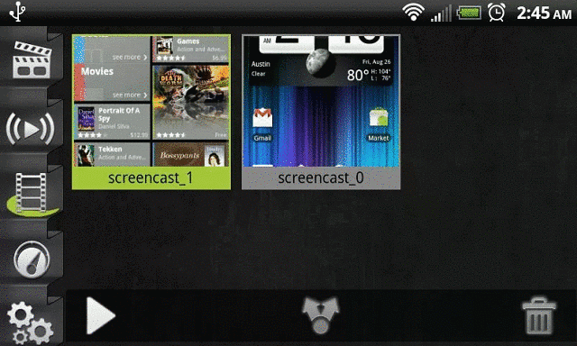 android screen recorder app
