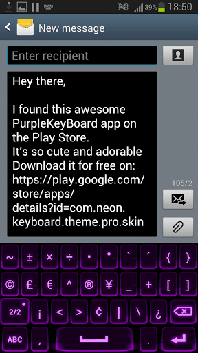 neon keyboard best android apps
