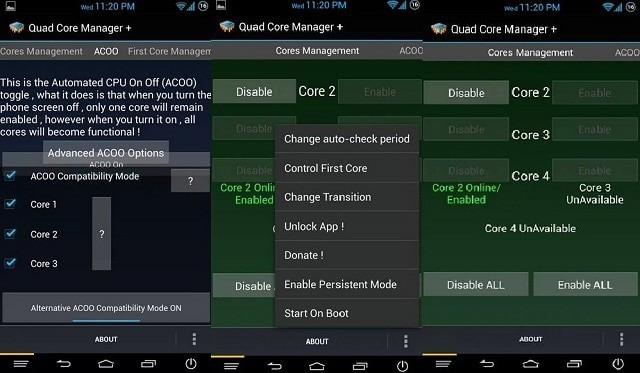 quad core manager