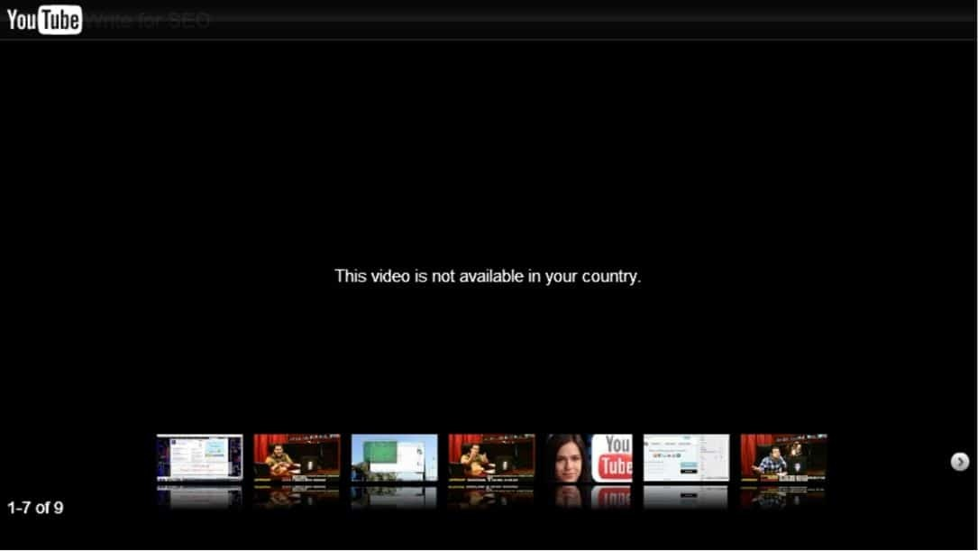 """This video is not available in your country."""