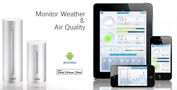 netatmo weather station gadget