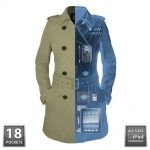 scottevest trench coat