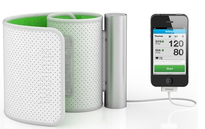 withings iphone blood pressure withings